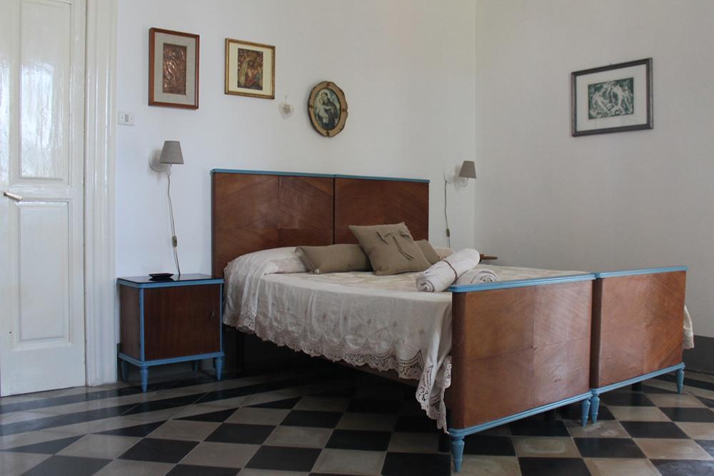 camera matrimoniale Casina Grassi salento