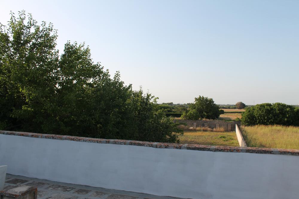 panorama loggia esterna