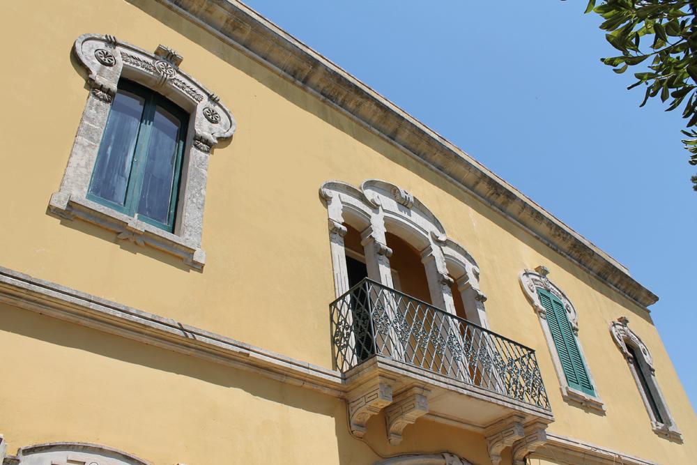 facciata balcone